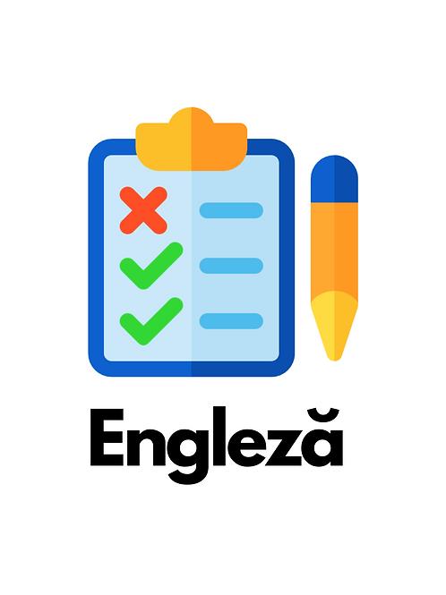 Teste Engleza Vol I PDF