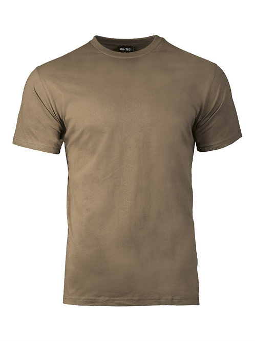 Tricou US STYLE COYOTE BROWN COTTON