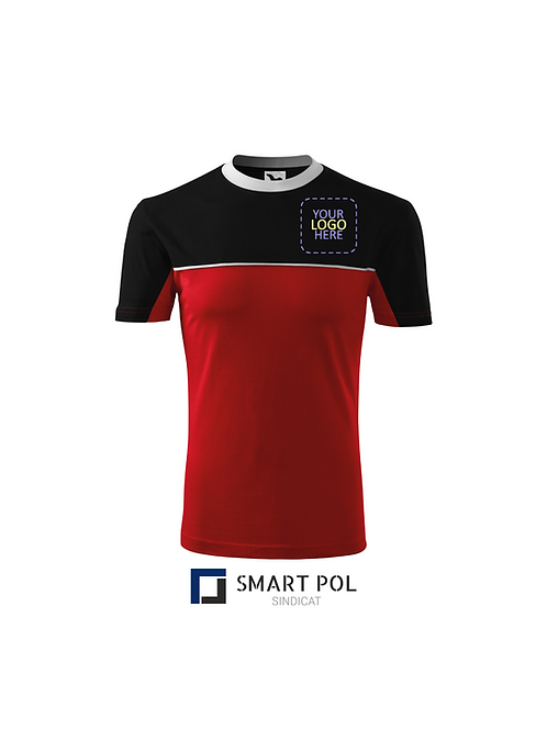 Tricou ColorMix Rosu Personalizat