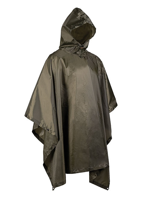 PONCHO OD RIPSTOP WET WEATHER
