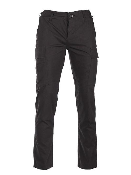 Pantaloni ′SLIM FIT′ US BLACK R/S BDU FIELD