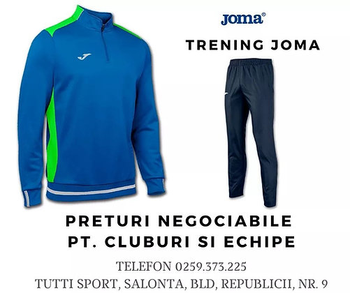 Trening JOMA, albastru, preturi negociabile
