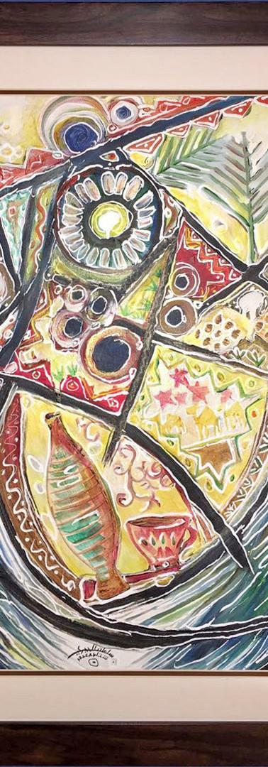 Inspired by Folk ART, Sold