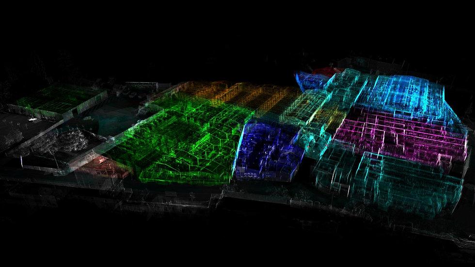laser scanning facility ScanSap