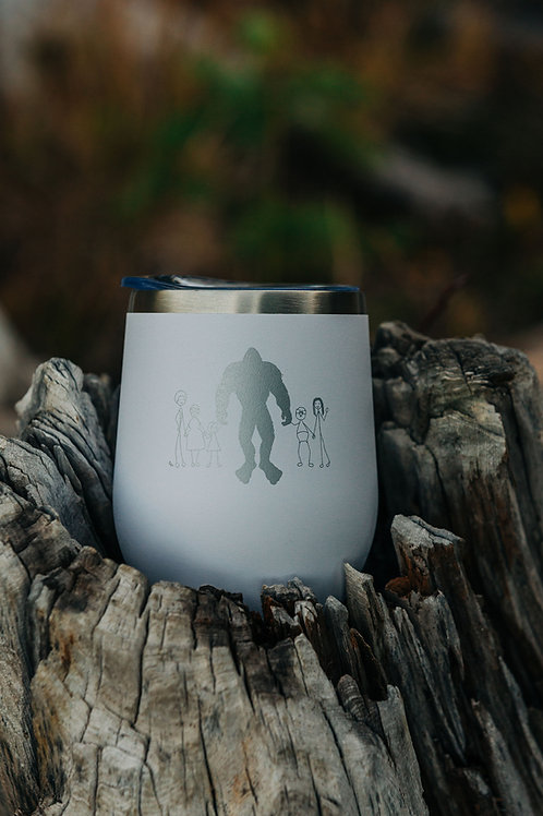 Bigfoot Wellness White Wine Tumbler