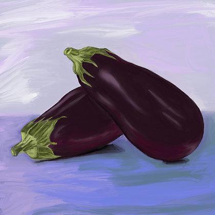 Eggplant Gicleé Print