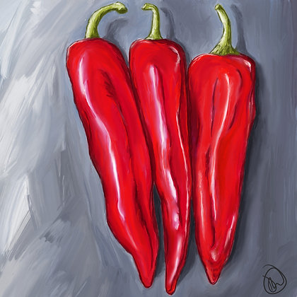 Peppers Gicleé Print