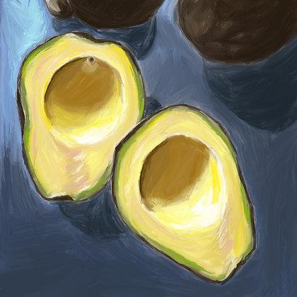 Avocado Gicleé Print
