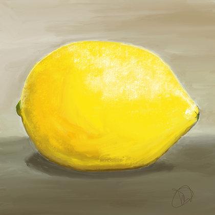 Lemon Gicleé Print