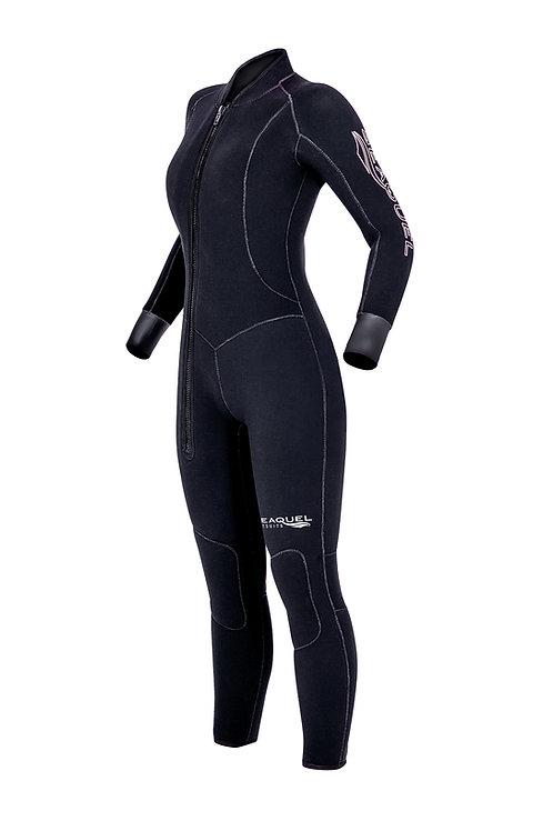Womens-Dive-Wetsuit-5mm-7mm-One-Piece-Yamamoto-45-Titanium-Neoprene-Custom-Wetsuit-Front
