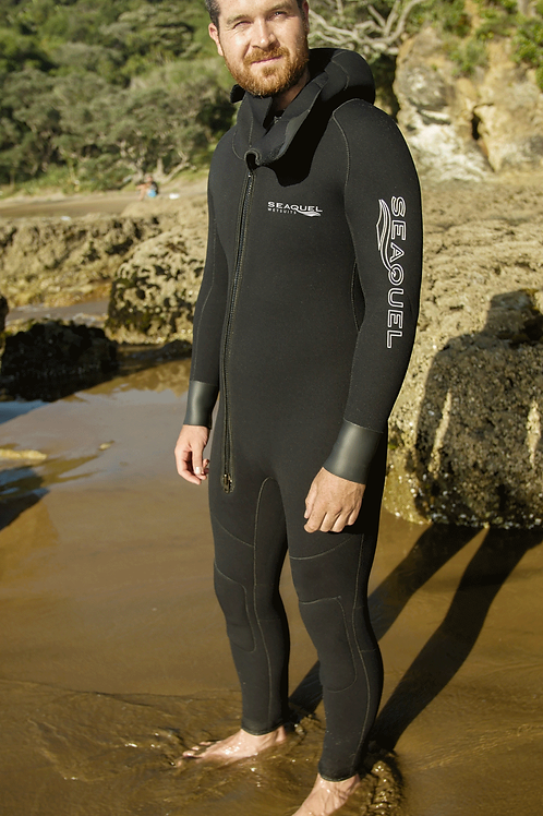 Custom-Dive-Wetsuit-5mm-7mm-Yamamoto-38-One-Piece-Front-New-Zealand