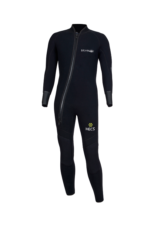 Custom-Dive-Wetsuit-HECS-Aquatic-Stealthscreen-One-Piece-5mm-7mm-Yamamoto-45-Front