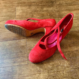 Coco's red Flamencista shoes