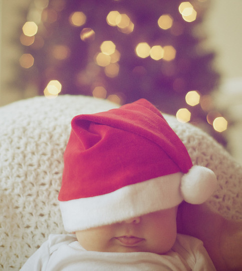7 ways to survive the holidays with a new baby