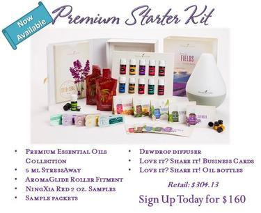 premium essential oil kit