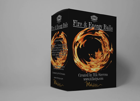 Fire and Energy Balls
