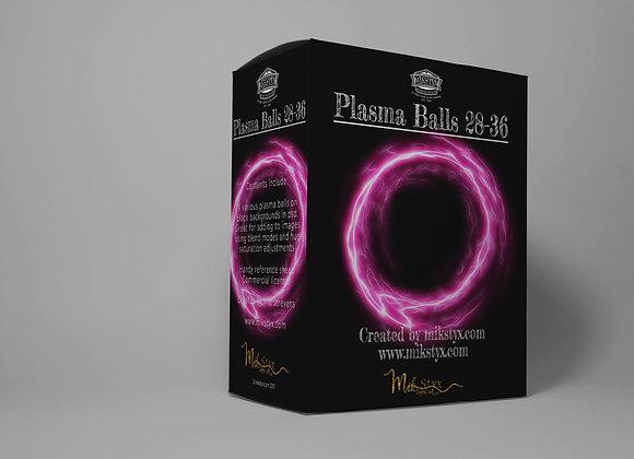Plasma Balls 28-36