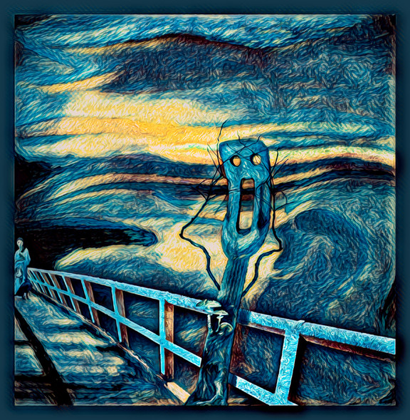 The Scream Gogh