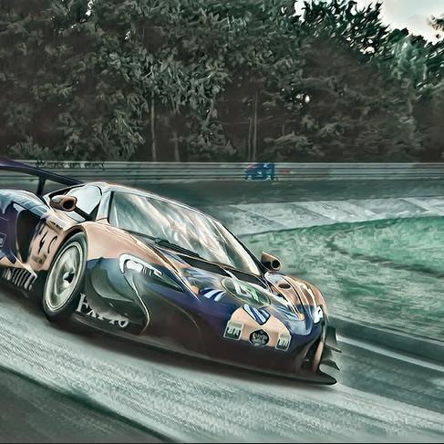 Lando at Nurburgring