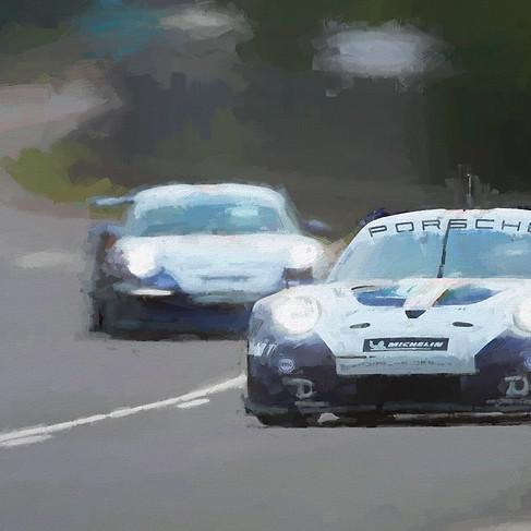 911 RSR & GT Le Mans 2018