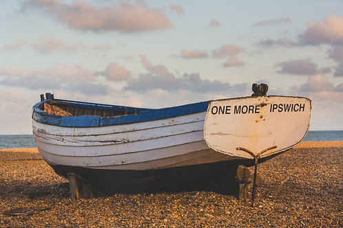 One More Ipswich Boat, Aldeburgh