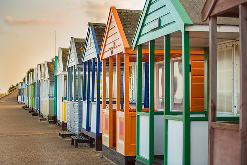 Beach Huts Row, Southwold