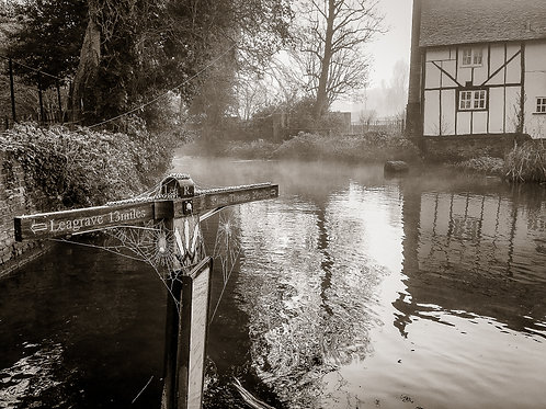 The River Lea, Wheathampstead