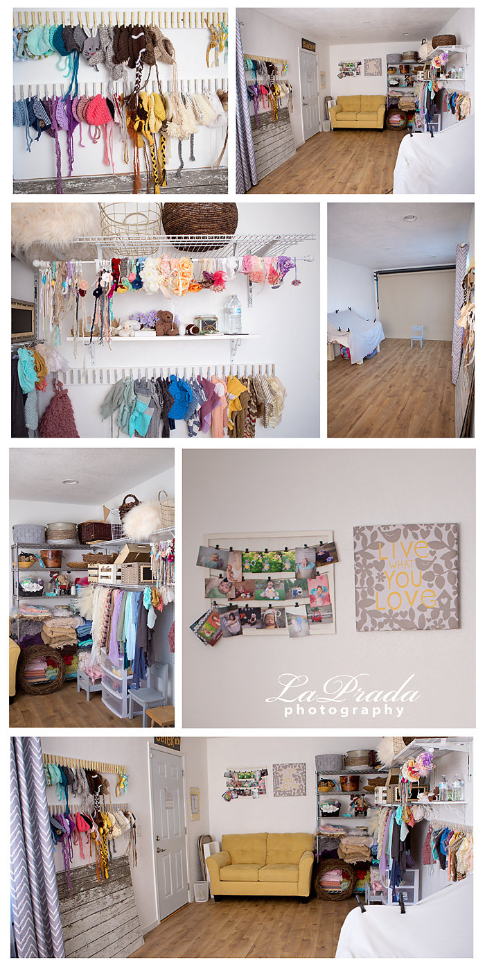 photography studio, small photography studio, home photography studio, example of photography studio, newborn photography prop storage, photography prop storage, addition to home, photography studio behind home, custom photography studio