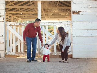 Family Session at Saguaro Ranch Park Glendale