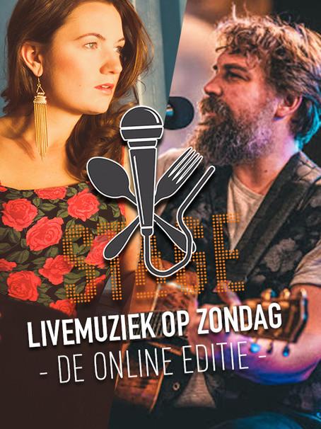 Livemuziek op Zondag - Online editie
