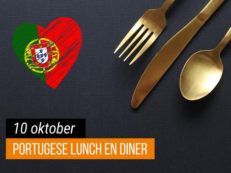 Lunchen en dineren in Portugese sferen