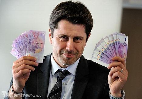 Richard Faille creador del Euro Souvenir