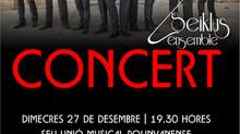 Concierto miércoles 27 diciembre a las 19:30h en la sede de la Unión Musical Polinyanse en Polinyà d