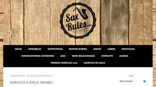Entrevista de Sax Rules a Seiklus Ensemble