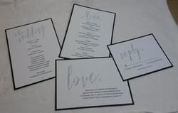 Modern Wedding Invitation Sample Image