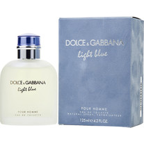 D&G LIGHT BLUE MEN