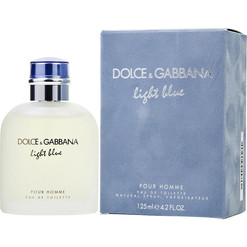 D&G LIGHT BLUE MEN
