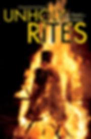 Cover of Unholy Rites novel