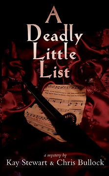 Cover of A Deadly Little List novel