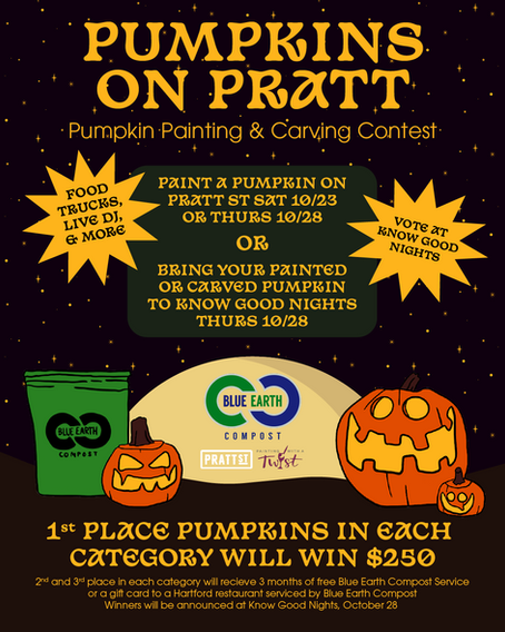 Pumpkins on Pratt!