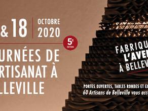 Journées de l'artisanat à Belleville 17 et 18 oct. 2020