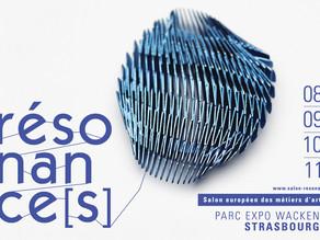Rendez-vous à Strasbourg au salon résonance(s) du 8 au 11 novembre