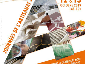Portes ouvertes de l'atelier les 12 et 13 octobre