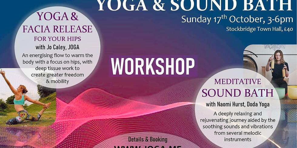 Yoga and Sound Bath with Naomi and Jo Caley (JOGA)