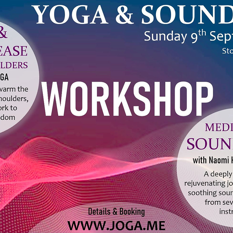 Yoga with Jo Caley  & Sound Bath with Naomi Hurst