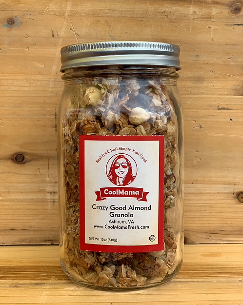 Crazy Good Almond Granola