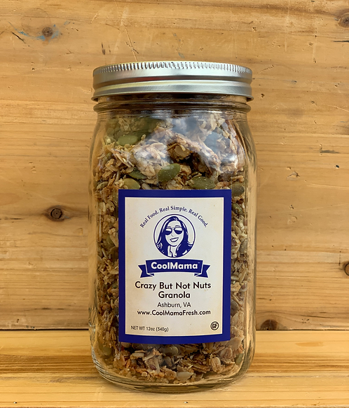 Crazy But Not Nuts Granola