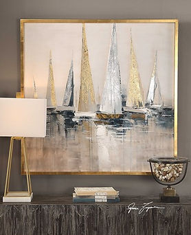 35362 Regatta Hand Painted Canvas 195-67