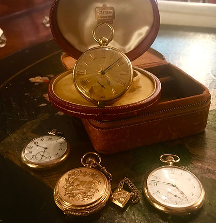 Antique Gold Pocket watches