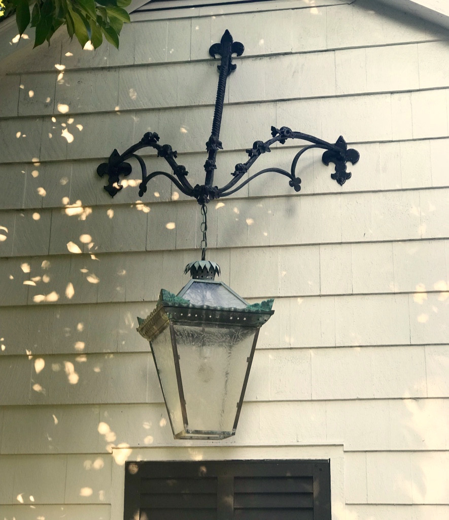 Wrought iron, lantern, hanging light